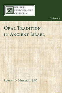 Oral Tradition in Ancient Israel