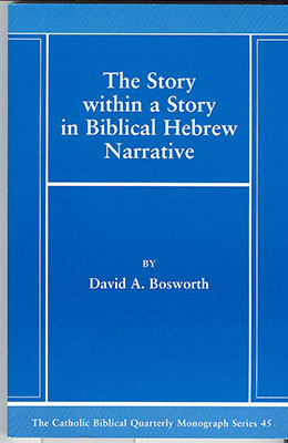 The Story within a Story in Biblical Hebrew Narrative